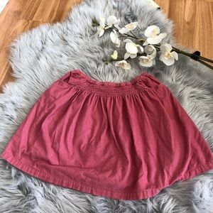 Girls Mini Boden Corduroy Pink Skirt